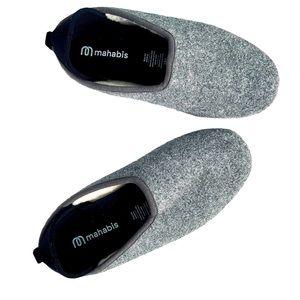 Mahabis Classic Slipper in Larvik Dark Grey